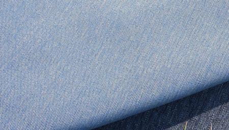outdoor stof blauw
