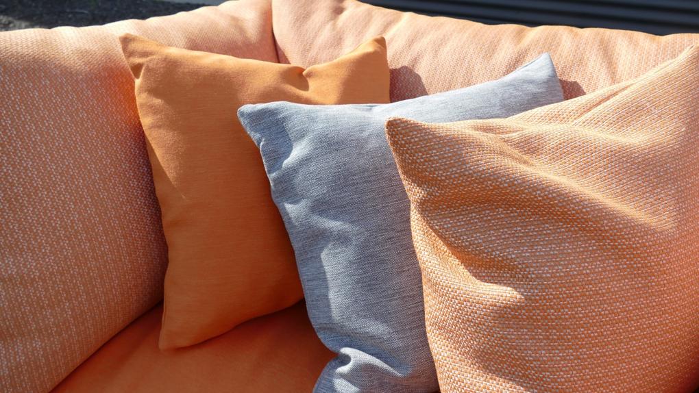 outdoor stoffen oranje