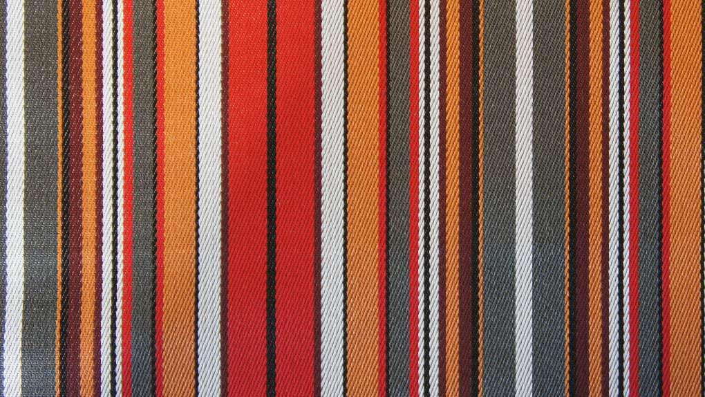 outdoor stof rood streep